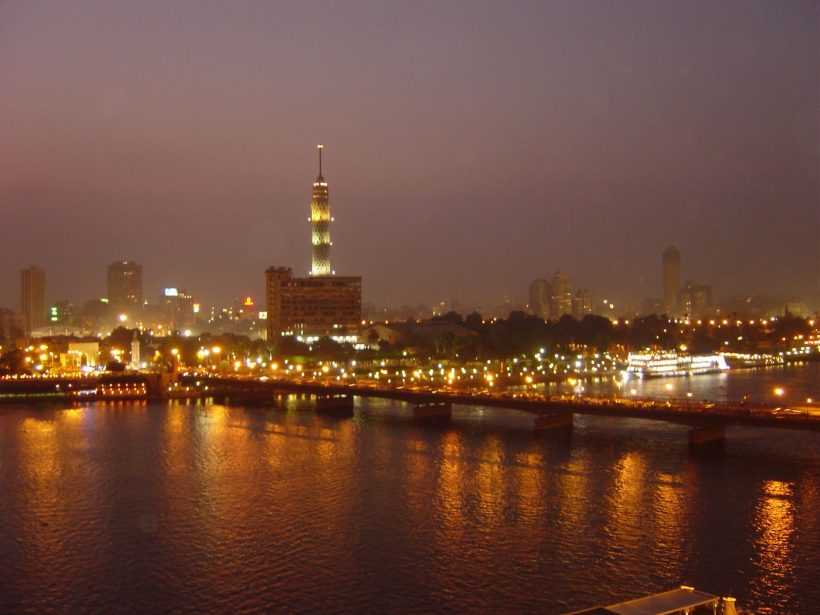 kair wieczorem